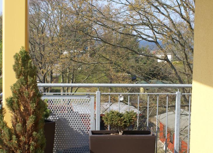 Balkon mit Blick zur Ostsee